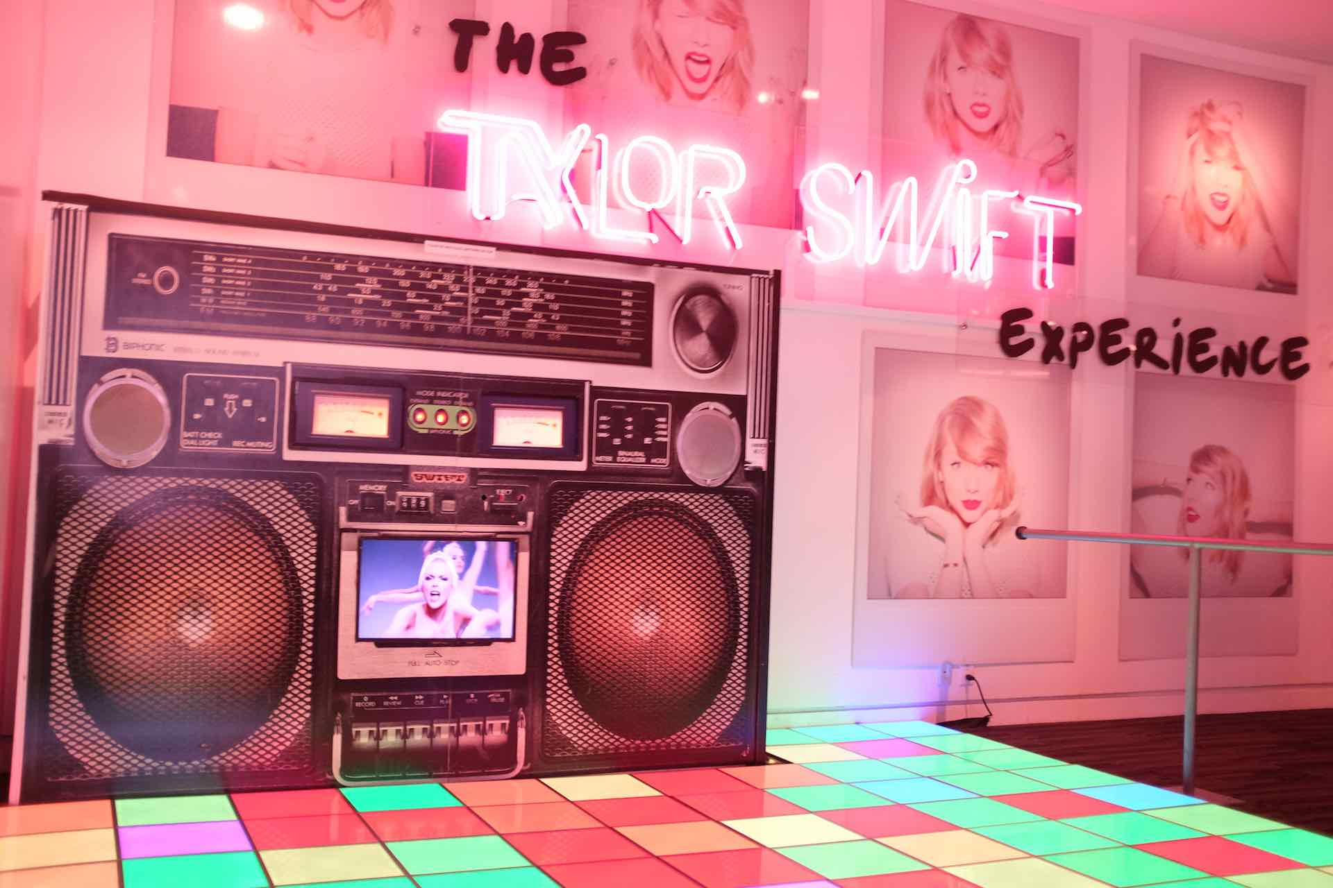 Boombox for The Taylor Swift Experience