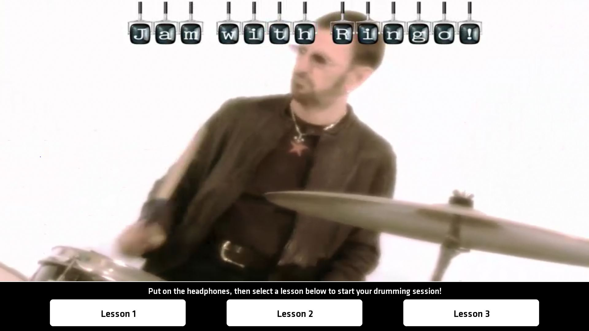 Drum-a-long with Ringo